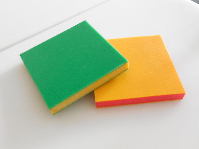 Triple Color Sheet
