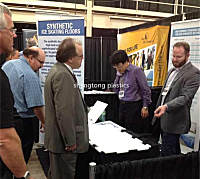 Trade show for synthetic ice in Canada
