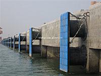 Marine bumper panel