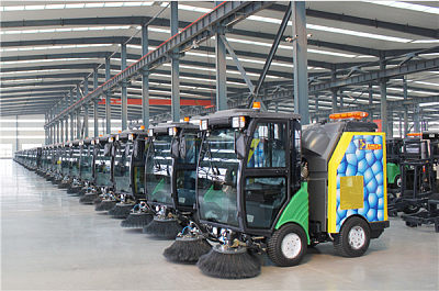 Street Sweeper Machine Workshop