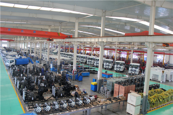 Sweeper Truck Assembly Plant-1