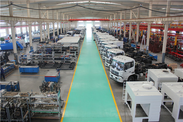 Sweeper Truck Assembly Plant-2