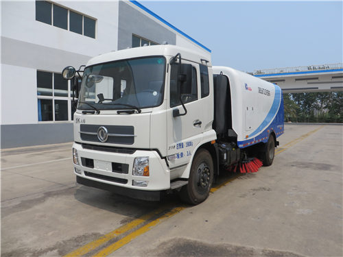 Street Washing Sweeper Truck