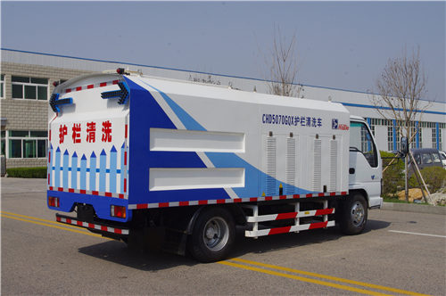 Guardrail Cleaning Truck