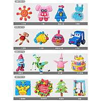 Sticky puzzle toys production line