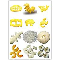 corn puff snacks production line